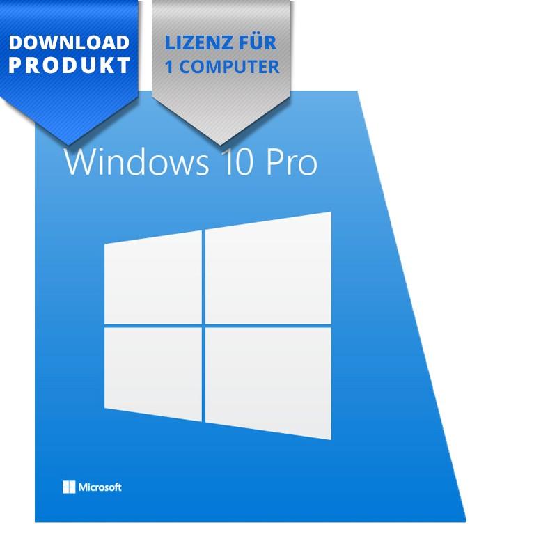Windows 10 Pro 32/64-Bit